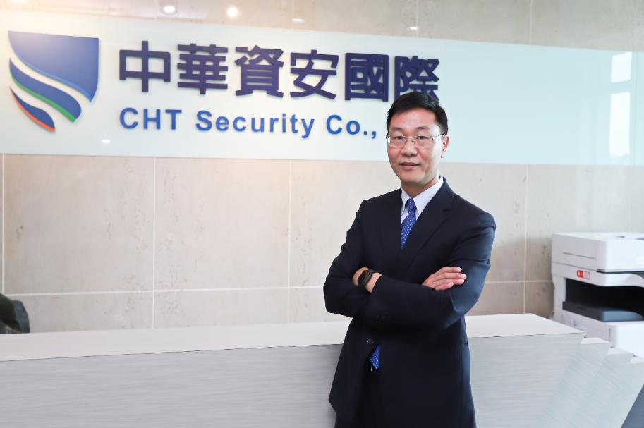 中華資安國際總經理洪進福。  彭子豪/攝影