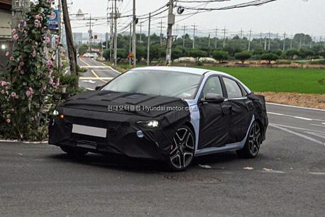 N Performance性能車的擴張 全新Hyundai Elantra N偽裝車首度現身!