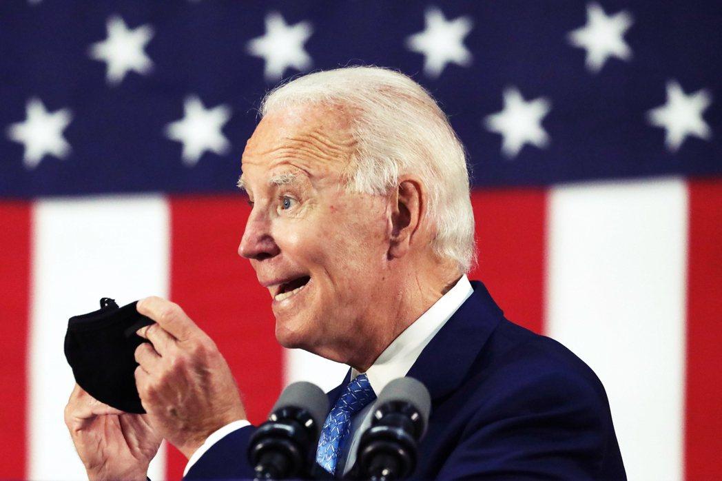 「如果我當選美國總統,我任內第一天的第一件事,就是重新加入WHO!」 圖/法新社