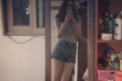 205公分妙齡女腿長達134公分 最愛高跟鞋搭短褲