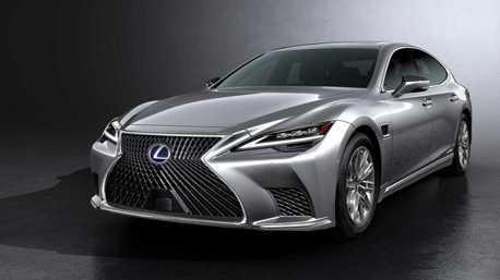 大和奢華旗艦Lexus LS小改款登場 高階智慧科技再升級!