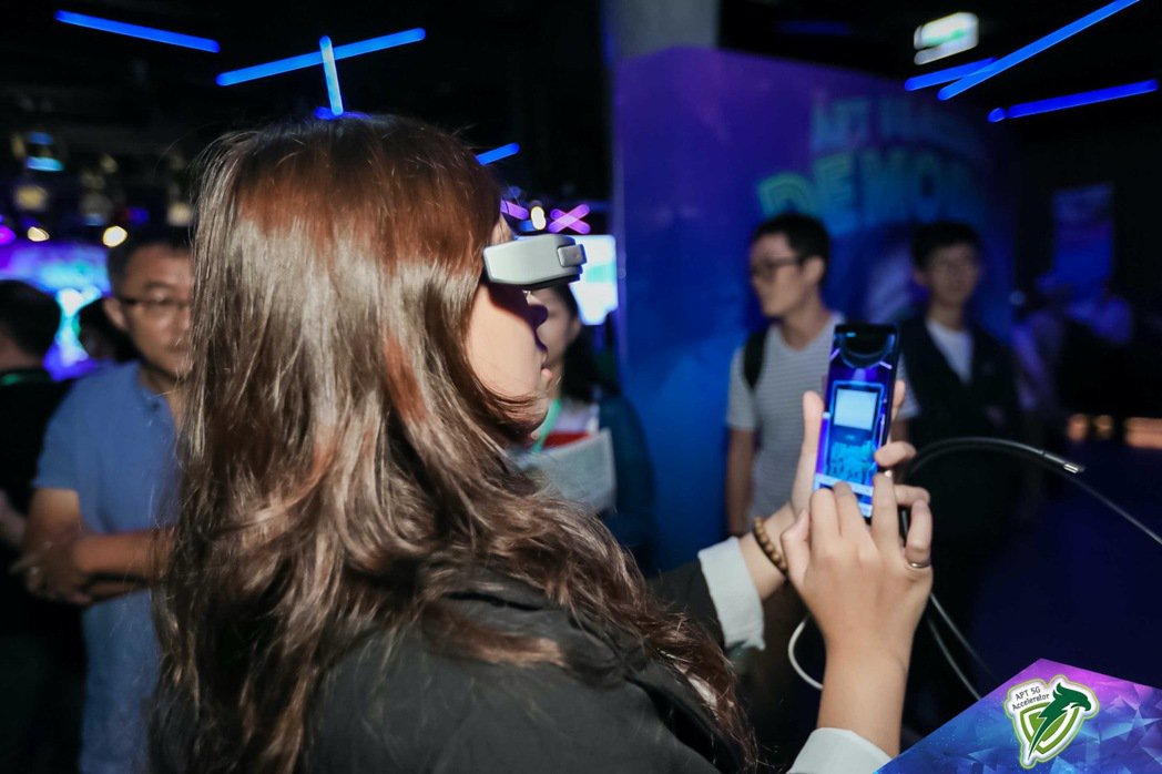 5G+AR/VR,「碼卡實境」打造創新教育模式。 亞太電信/提供