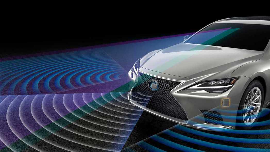 LS首次導入Lexus Teammate進階駕駛輔助系統。 摘自Lexus