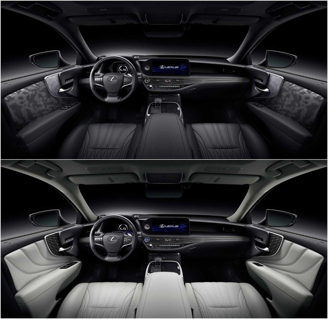 小改LS在內裝的材質部分也做了升級,並新增12.3吋中控螢幕。 摘自Lexus