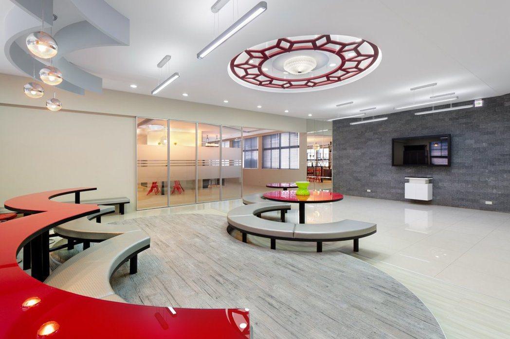 萬能科大營建科技系不動產實習專業教室一景。