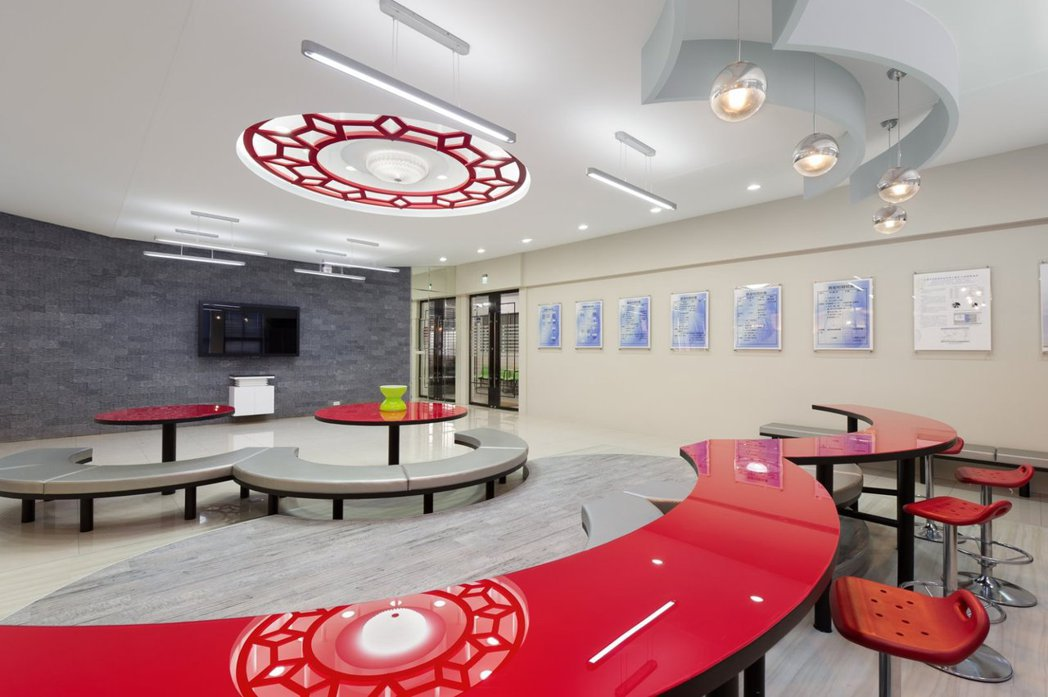 萬能科大營建科技系不動產實習專業教室。
