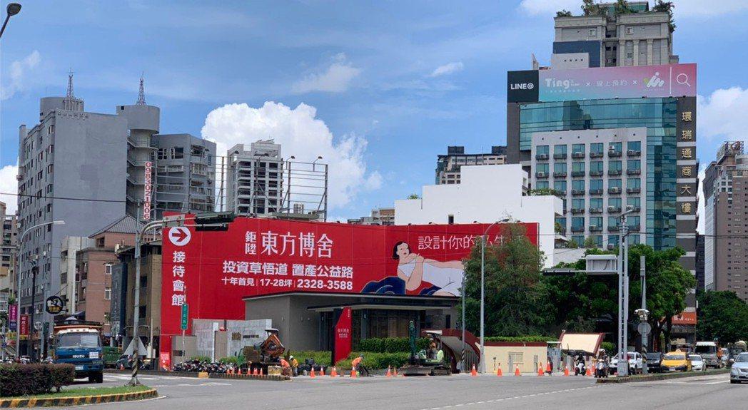 台灣大道公益路交會口路。 業者/提供