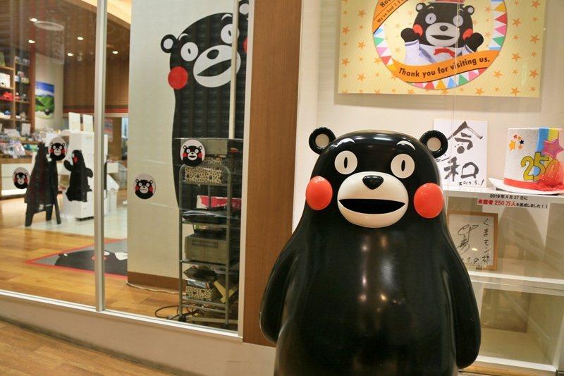 熊本熊帶動地方經濟發展的成功案例,引起日本其他行政區的仿效。 圖/聯合報系資料照