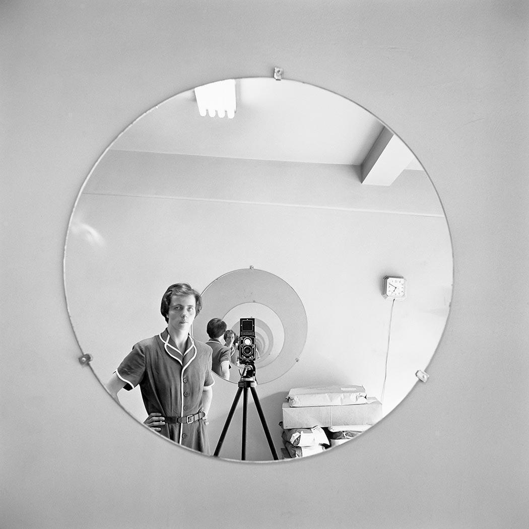 Self-portrait, New York, NY, May 5th, 19...