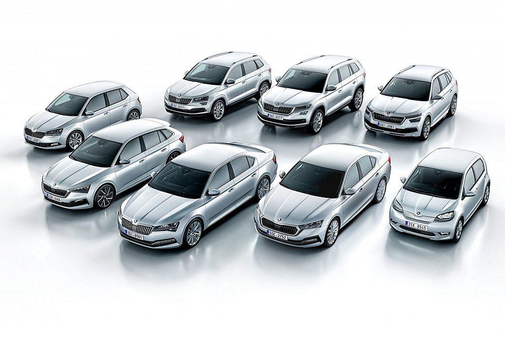 捷克Skoda汽車,日前針對旗下各車系進行新年式配備調整。 圖/Skoda提供