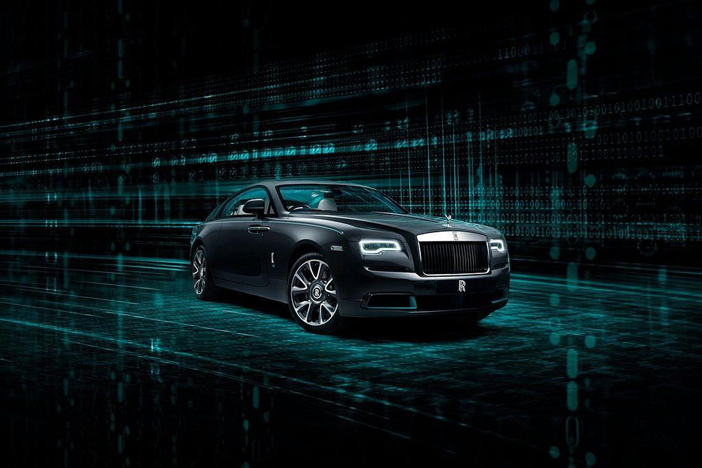 勞斯萊斯Wraith「隱匿之鑰」特別版車型設計過程中,一位熱衷於密碼學的設計師,...