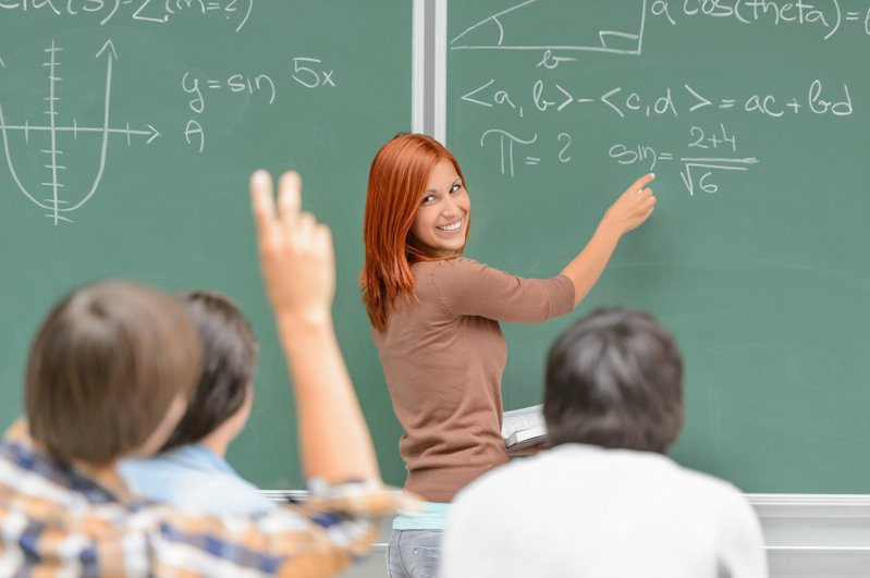 研究指出,兒童的數學學習效果和父母有很大關係。示意圖,圖片來源/ingimage