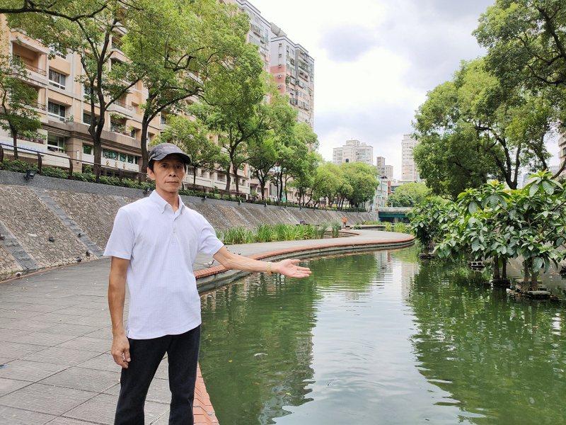新莊「中港大排」過去被形容是黑龍江,歷經三年打造完成,如今有著「大臺北地區的清溪川」的美譽。 圖/永佳樂有線電視提供