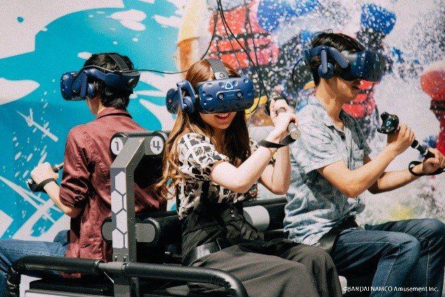 宏匯廣場與萬代南夢宮游藝攜手合作「VR ZONE NEW TAIPEI」,將推出12支遊戲IP。圖/宏匯廣場提供