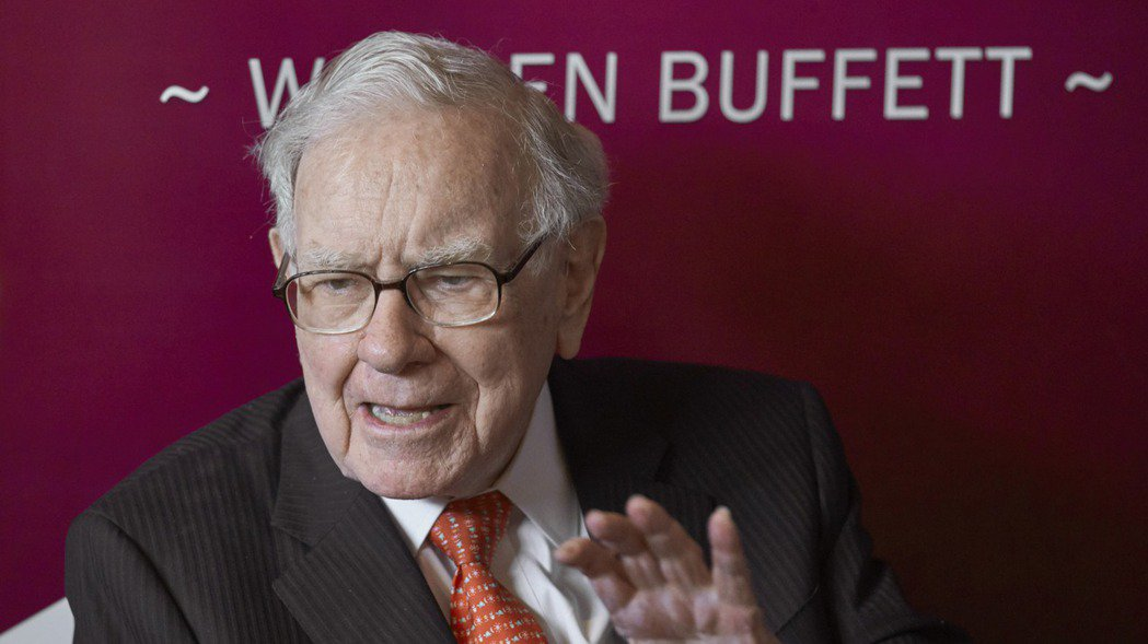 波克夏執行長巴菲特(Warren Buffett)。 美聯社