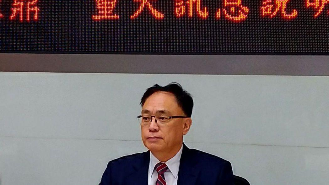 聚鼎董事長兼執行長朱復華。 記者李孟珊/攝影