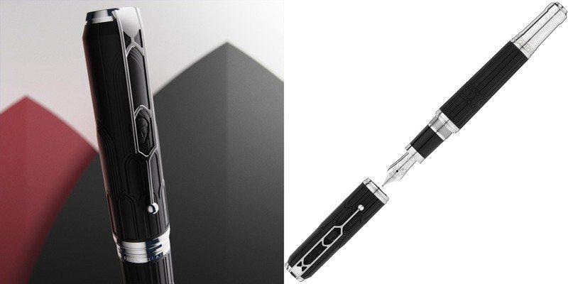 筆尖的哲思 萬寶龍 萬特佳 限量鋼筆向美法兩大文豪致意 | 時尚觀點 | 時尚名人