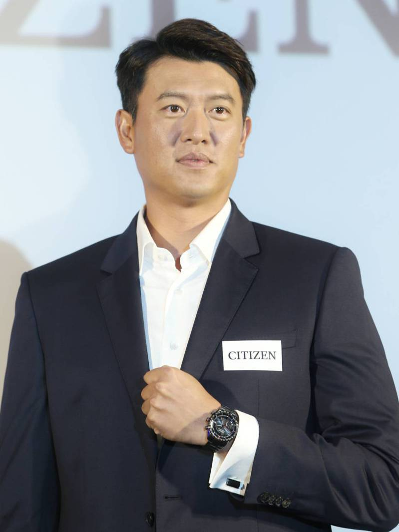 前旅美投手、中信兄弟隊二軍客座投手教練王建民,擔任知名手錶品牌「CITIZEN」代言人。記者侯永全/攝影