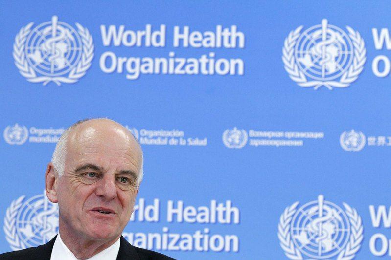 WHO新冠病毒疾病特使納巴羅8日對美國退出決定感到難過。路透