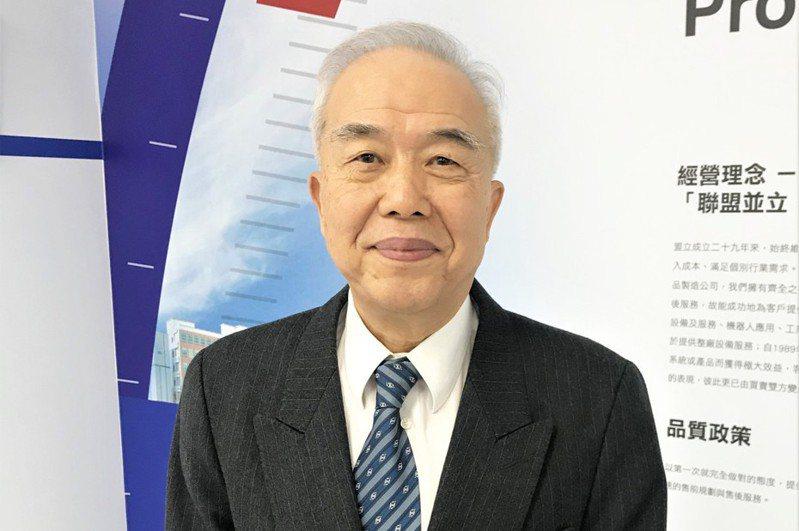 盟立董事長暨總裁孫弘。(本報系資料庫)