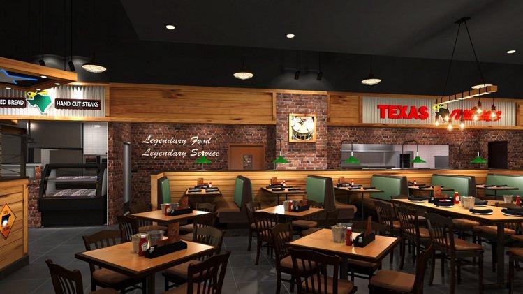 Texas Roadhouse將於7月15日開設桃園新光店。圖/Texas Ro...