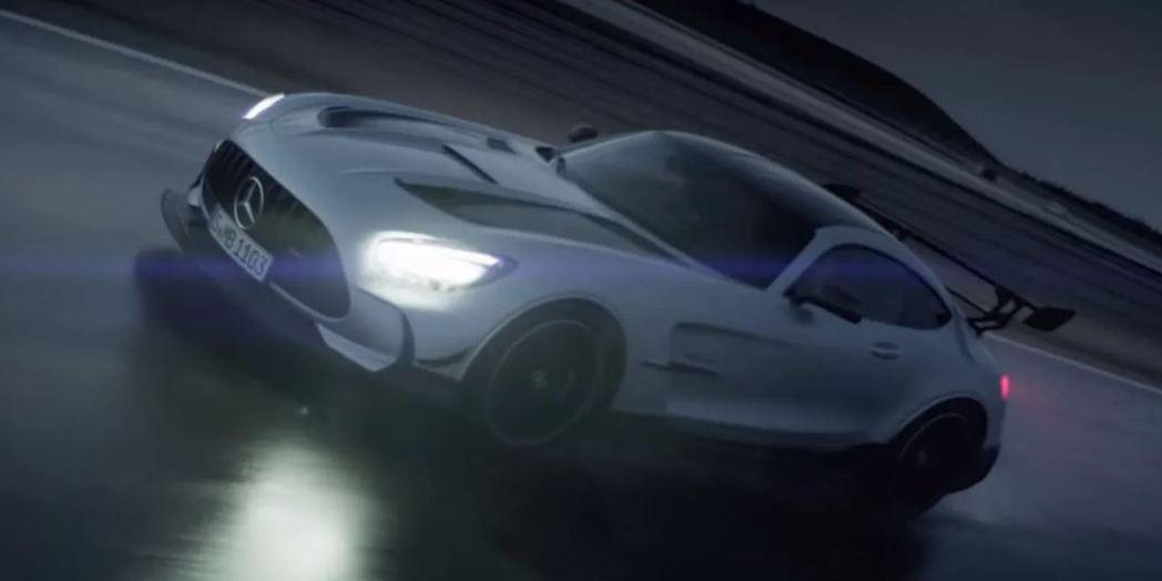 Mercedes-AMG GT Black Series。 摘自Carscoop...