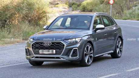 2021 Audi SQ5無偽裝現身 竟不再是動力一哥?
