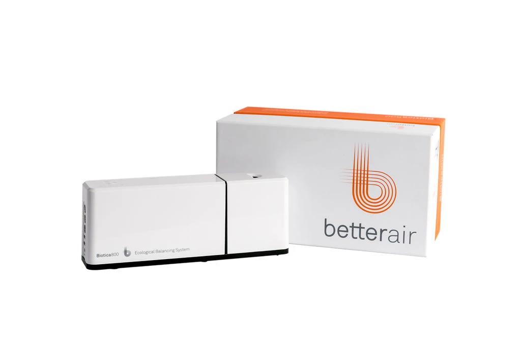 於室內安裝betterair的益生菌環境清淨機,打造健康適居的室內環境。