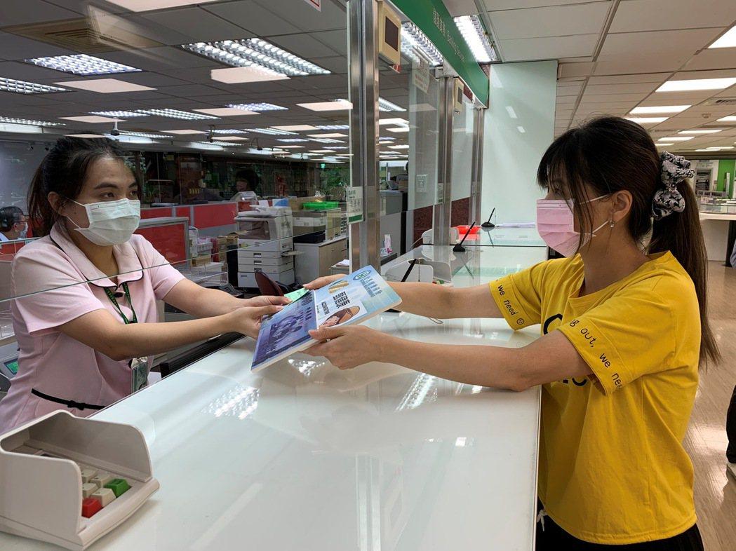 中華郵政模擬發放三倍券作業。 中華郵政/提供