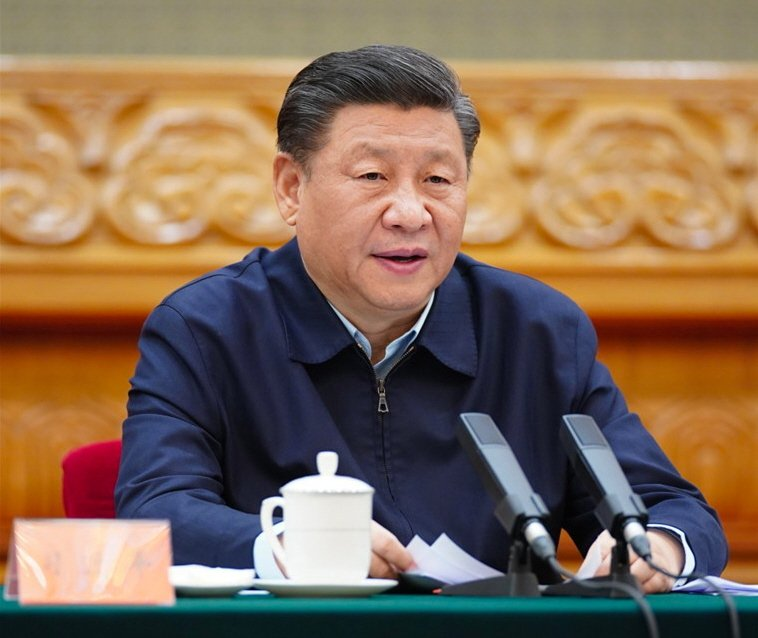 圖為中國國家主席習近平。(新華社)