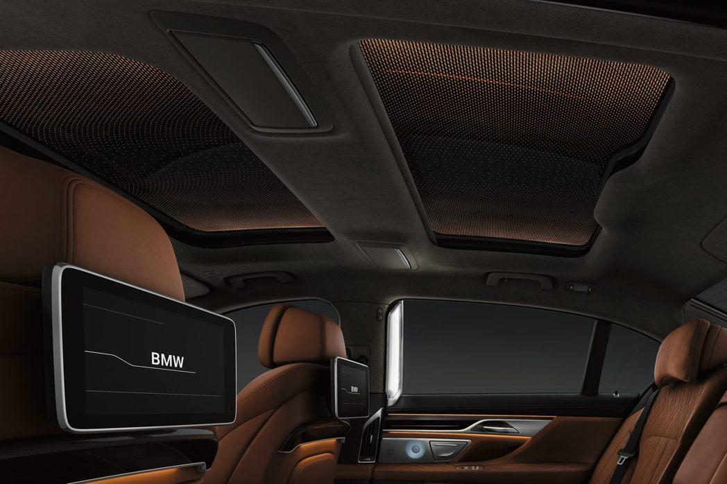 BMW 740Li與BMW 750Li xDrive升級後座影音系統,搭配Nap...