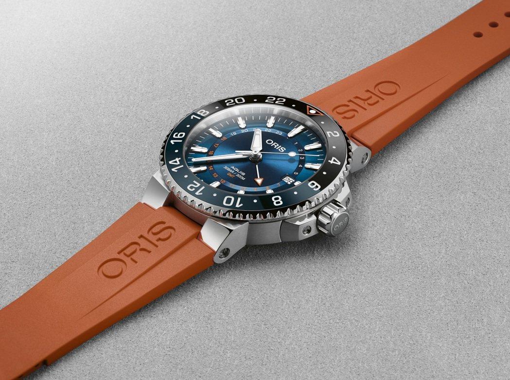 Oris Carysfort Reef 限量錶,建議售價80,000元。業者/提...