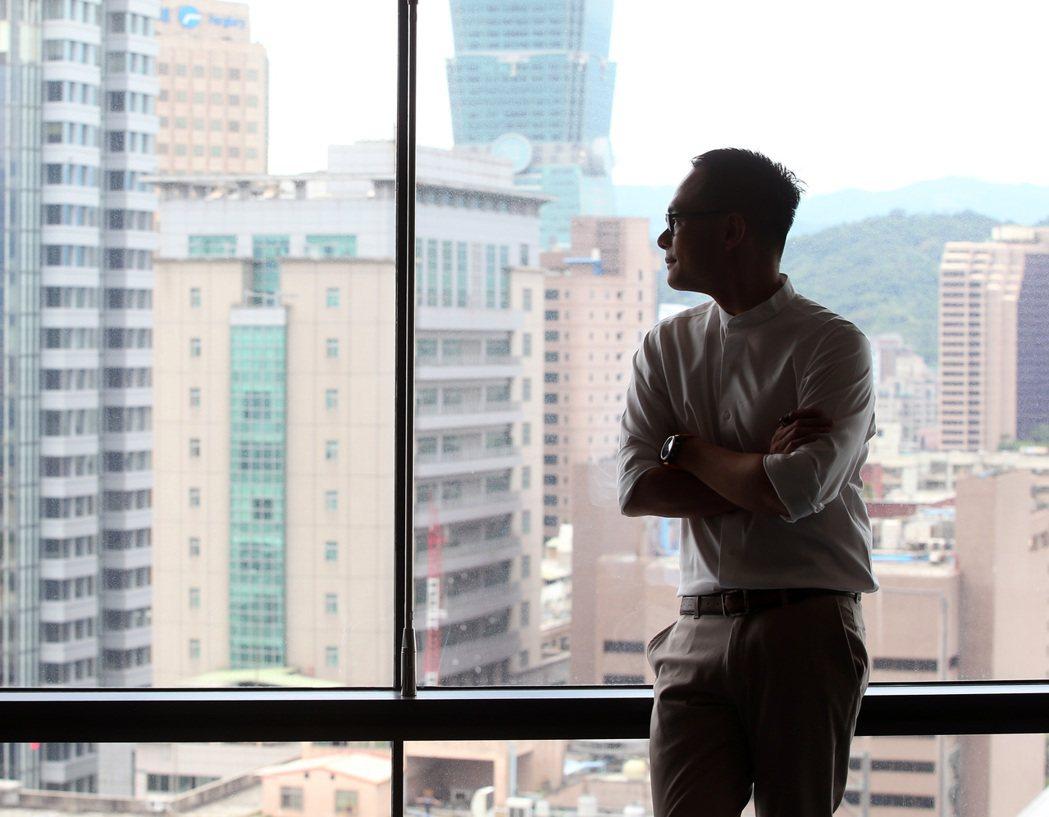 林之晨期待能為台灣創造更多機會,也為下一代做好準備。記者林澔一/攝影