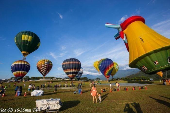 2020臺灣國際熱氣球嘉年華(2020/7/11-8/30)。 圖/Flickr
