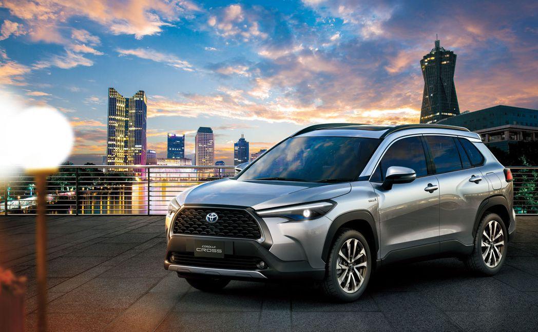 TOYOTA Corolla Cross即將於10月12日導入台灣市場。 圖/T...