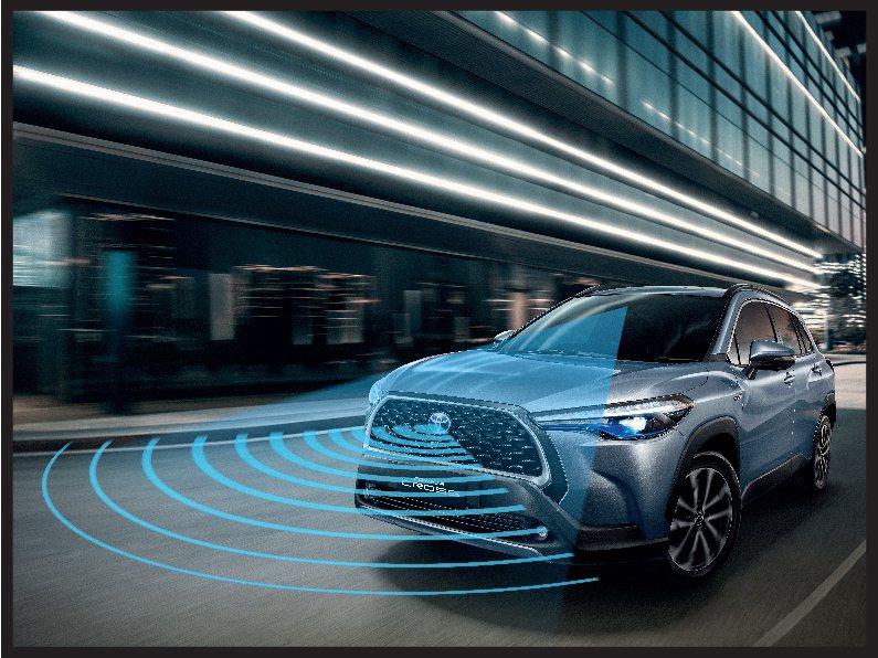 是否全車系能搭載TSS主動安全防護系統,值得後續關注。 圖/TOYOTA提供