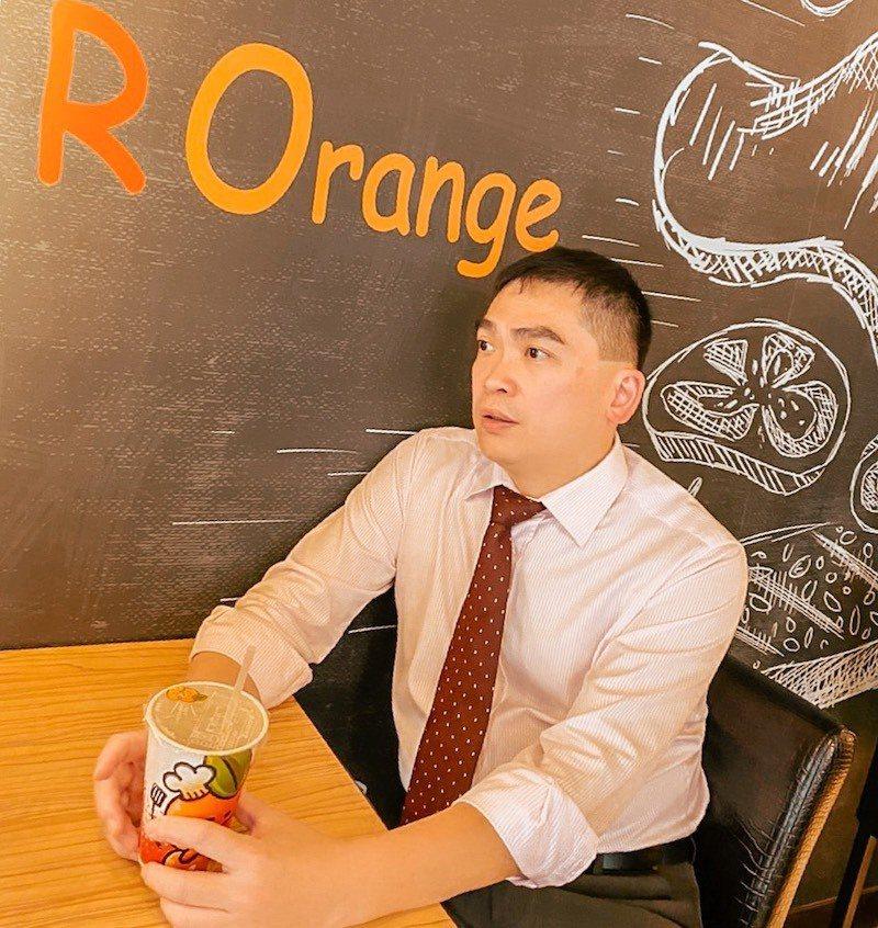 紅橘子連鎖餐飲集團創辦人蔡思庭。紅橘子/提供