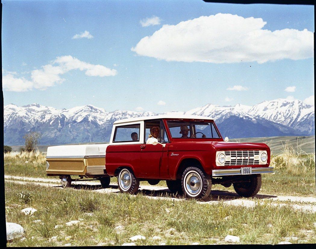 初代Ford Bronco。 摘自Ford