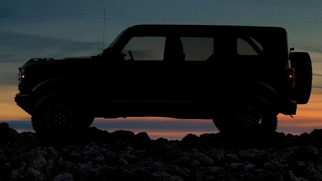 Ford Bronco四門車型。Ford Bronco 摘自Ford
