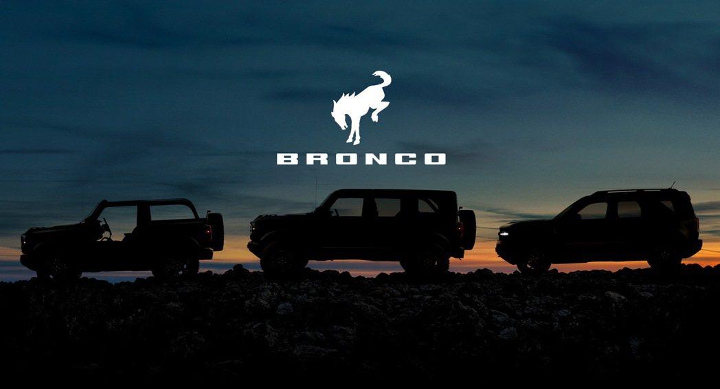 全新Ford Bronco家族首發三車型。 摘自Ford