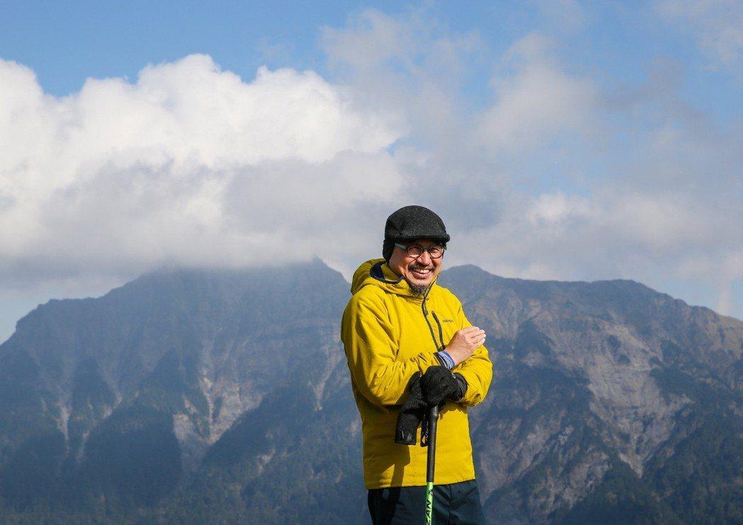 詹偉雄喜歡登高山,曾說冒險能開拓創造性,但也需要做足準備。 圖/王騰毅拍攝