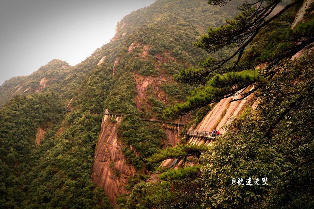 遊歷了不少名山大川,三清山的棧道, 我走過最長的棧道, 行走棧道間,欣賞著如畫的風景,我的心靈被震撼著。