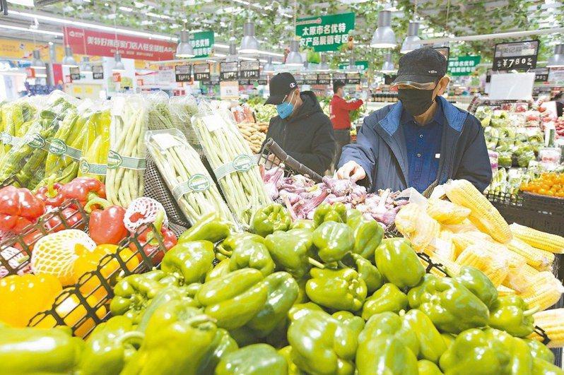 大陸6月消費者物價指數(CPI)年增2.5%。中新社資料照片