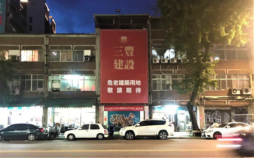 近三年危老建案推案量年年創新高。記者游智文/攝影
