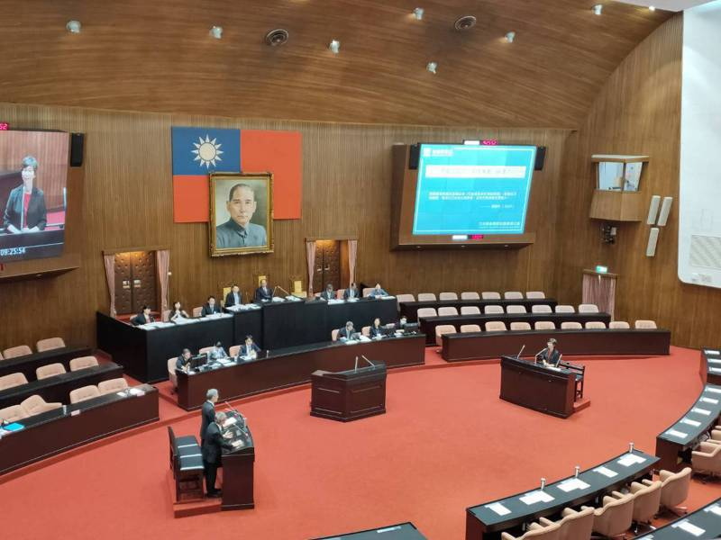 立法院全院審查會今天上午進行考試委員被提名人陳錦生、吳新興、楊雅惠和王秀紅的審查。記者徐偉真/攝影