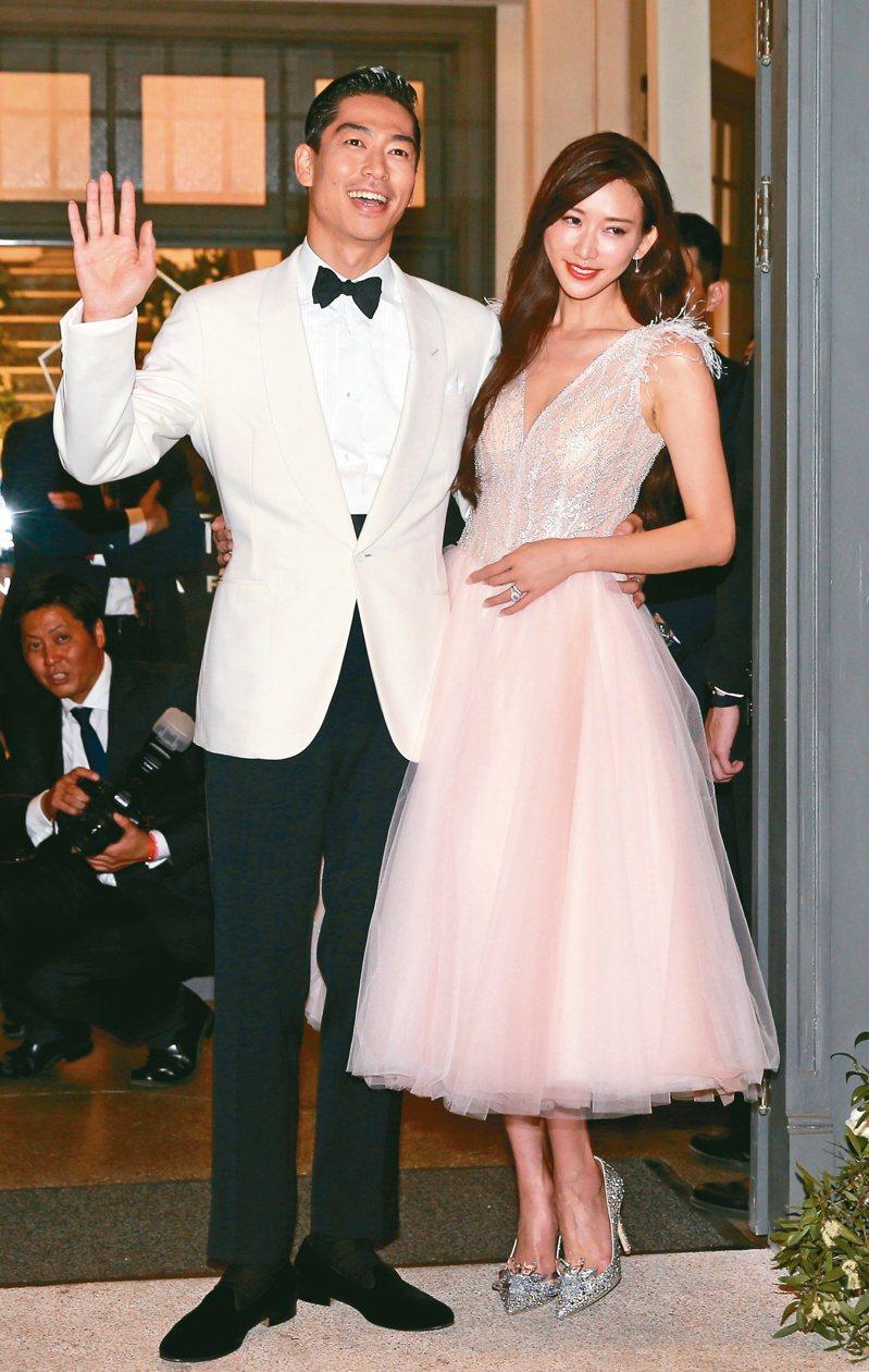 名模林志玲與放浪兄弟成員AKIRA去年11月完成世紀婚禮,喜宴選在台南市美術館舉行。 圖/聯合報系資料照片