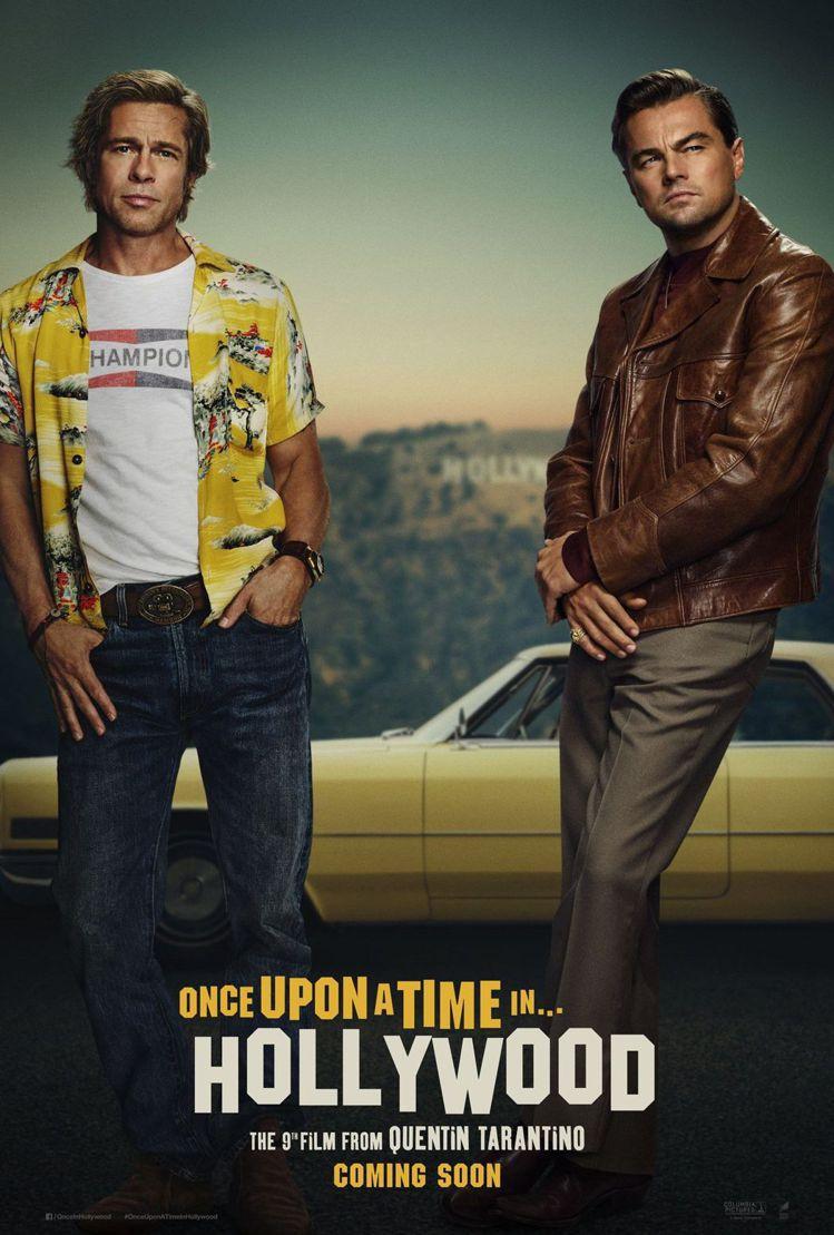 去年上映的熱門電影《從前,有個好萊塢》中,由布萊德彼特帶起花襯衫風潮延續至今。圖...