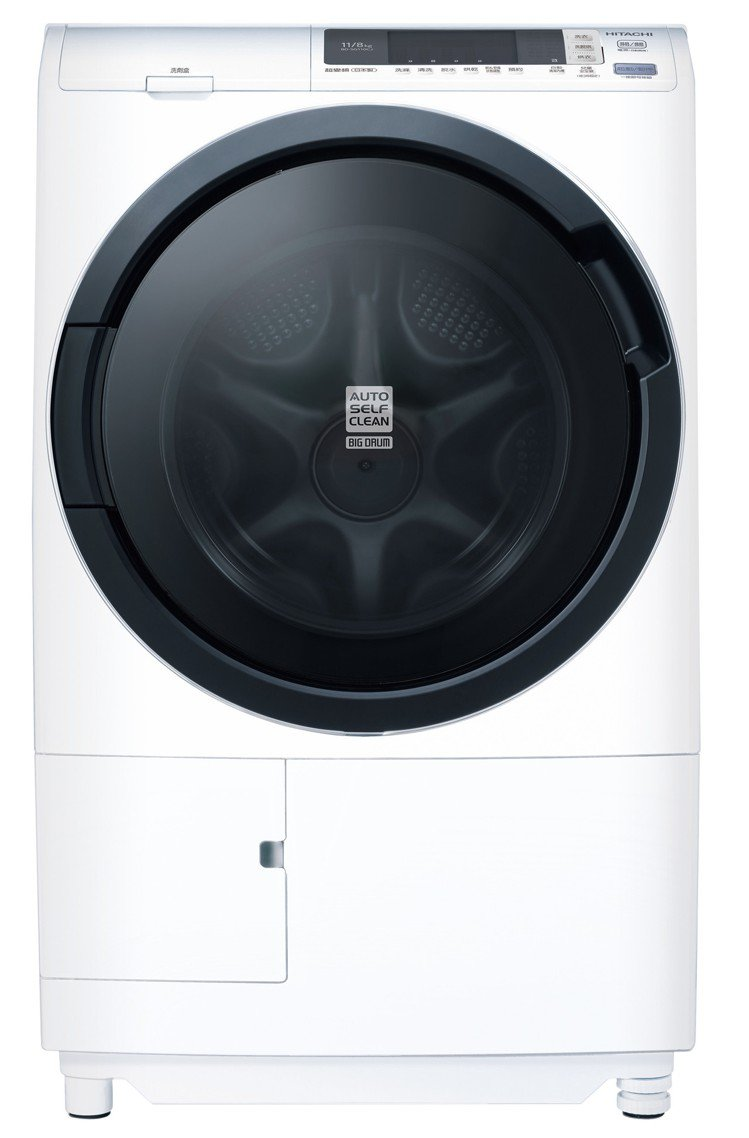 HITACHI 11公斤洗脫烘滾筒洗衣機狂降4,490元,限量400台,除了原廠...
