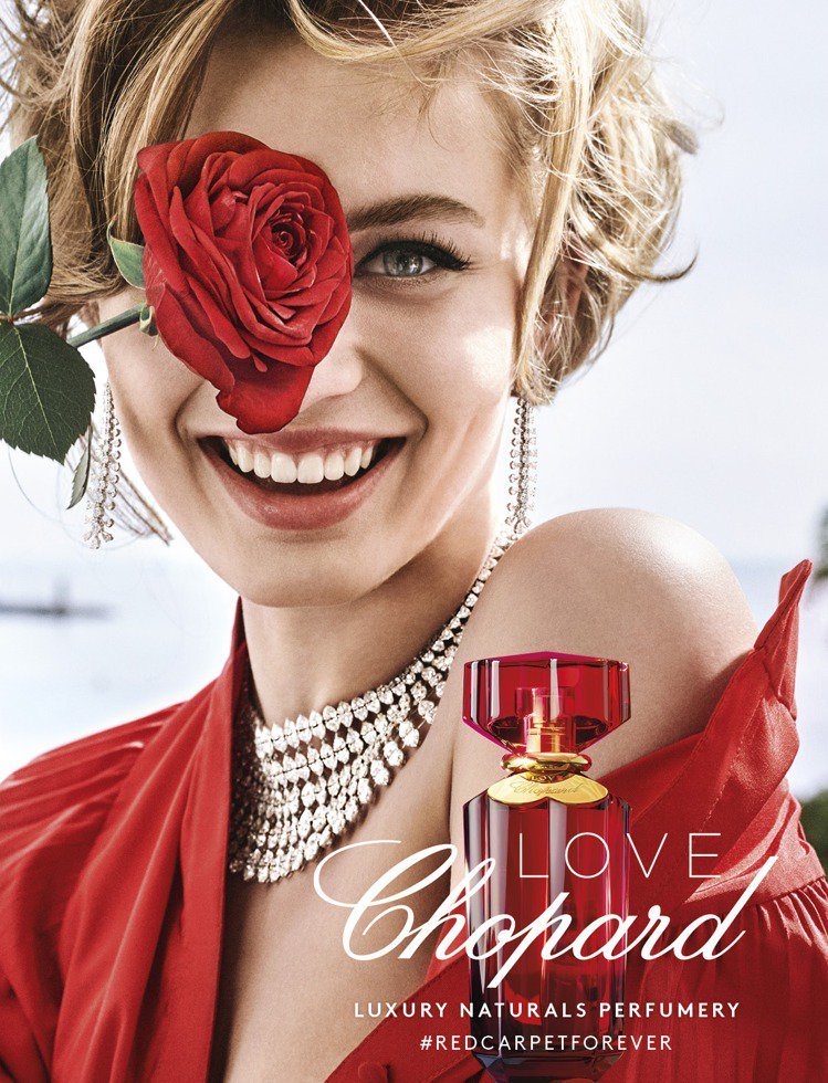 蕭邦推出「LOVE CHOPARD 愛在蕭邦」淡香精系列。圖/鋒恩香水提供