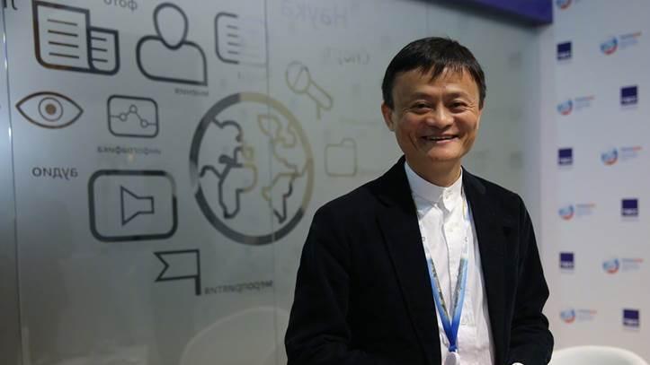 阿里集團創始人馬雲,今(9)日在2020世界人工智能大會上,以聯合國數位合作高級...